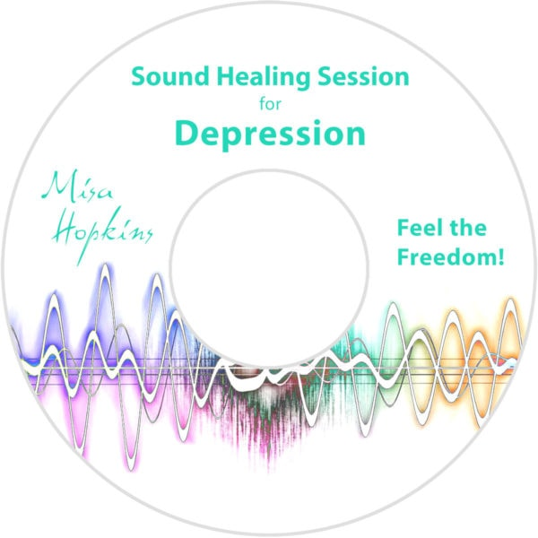 depression, sound healing, sound healing cd, sound healing mp3