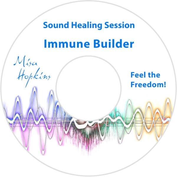 immune building, sound healing, sound healing cd, sound healing mp3