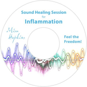 Inflammation, sound healing, sound healing cd, sound healing mp3