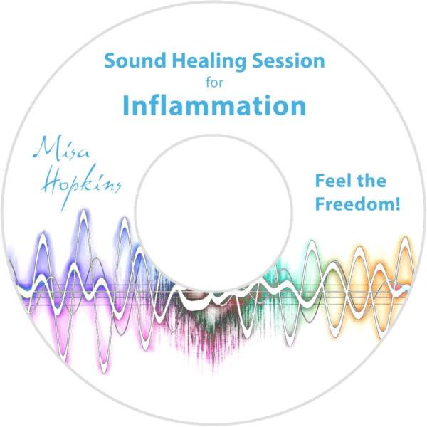 Inflammation, sound healing, sound healing cd, sound healing mp3