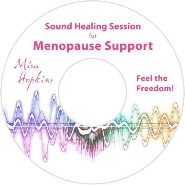 Menopause, sound healing, sound healing cd, sound healing mp3