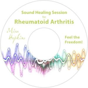 Rheumatoid Arthritis, sound healing, sound healing cd, sound healing mp3