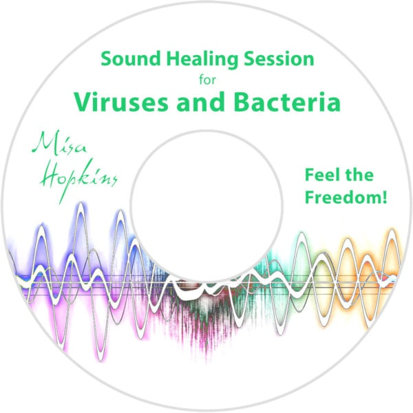 Viruses and Bacteria, sound healing, sound healing cd, sound healing mp3