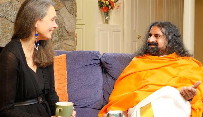 With Brahmarishi Mohanji